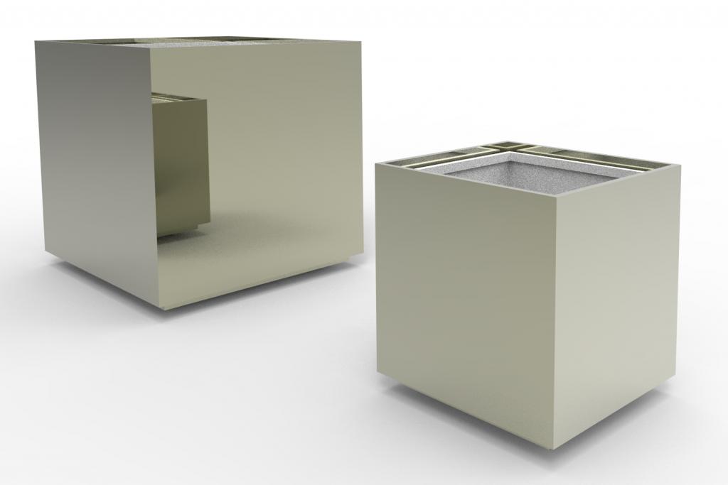 Caisse poli miroir 650 et 1050mm V2 RETRAVAILLE